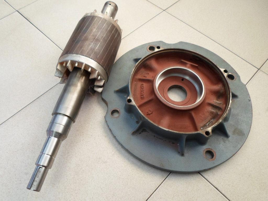 Tapa y rotor de bomba
